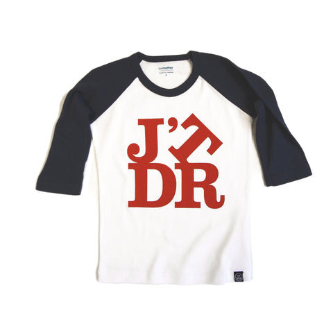 J'TDR Tee - Blue and Red