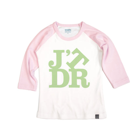 J'TDR Tee - Pink and Green