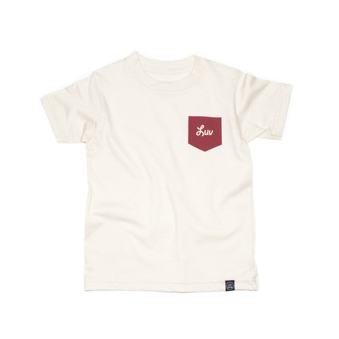 Organic Cotton Tee - Pocket Luv