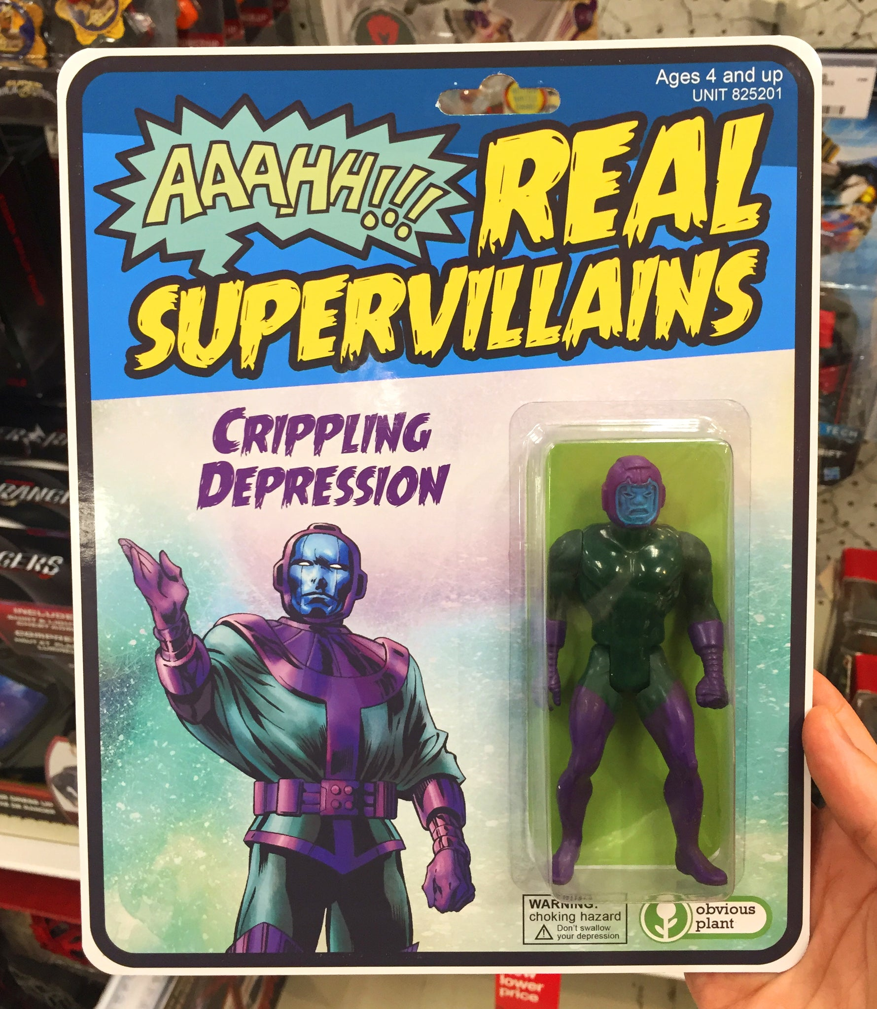 Crippling Depression Action Figure