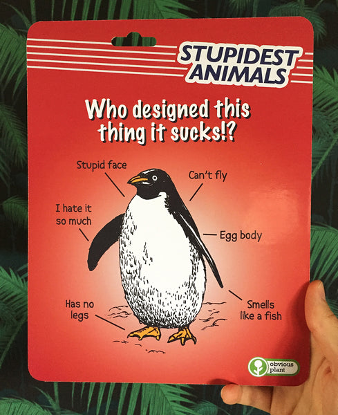 Stupidest Animals - Penguin Action Figure