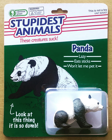 Stupidest Animals - Panda Action Figure