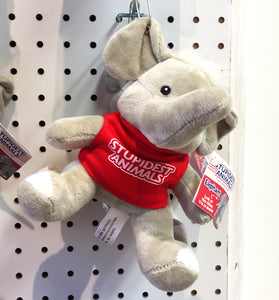 Stupidest Animals Plush - Elephant