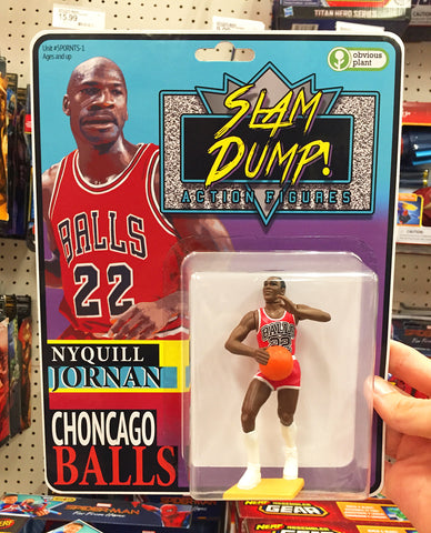Bootleg Michael Jordan Action Figure
