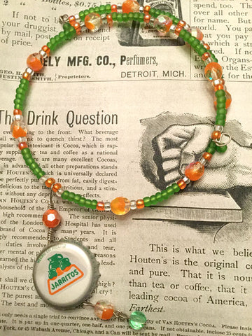 Bottle Cap Necklace - Jarritos