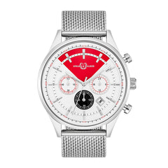 Power Racer Herrenuhr silber silber