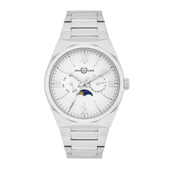 Classic Moon Herrenuhr silber silber