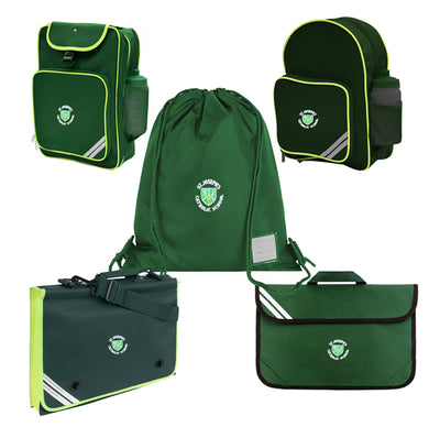 St Joseph's Book Bags & Backpack