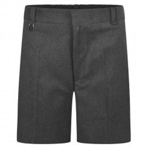School Trouser Shorts Grey
