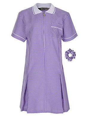 Laneshawbridge Summer Tartan School Girls Dress