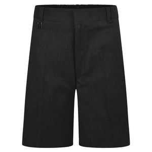 School Trouser Shorts Black