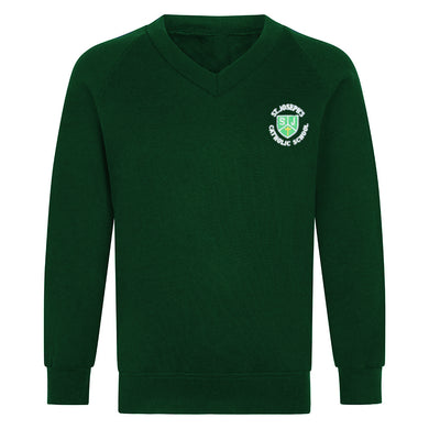 St Joseph's Year 6 V-Neck Sweatshirt