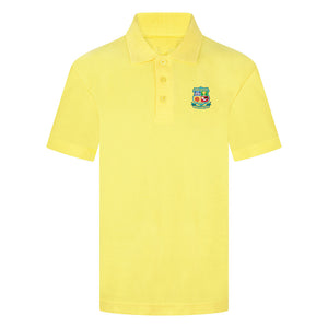 Lomeshaye Junior Yellow Polo Shirt With Logo
