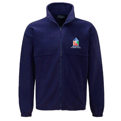 Holy Saviour RC Primary Fleece Jacket With Logo