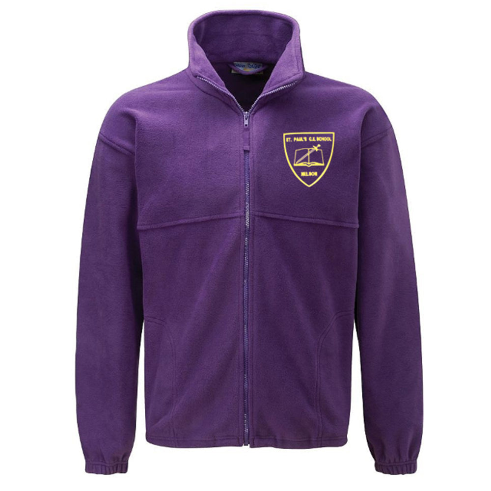 St Paul's Primary Fleece Jacket With Logo