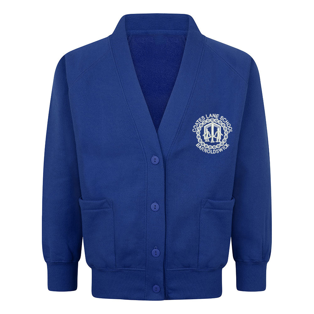 Reedley Primary Sweat Cardigan With Logo