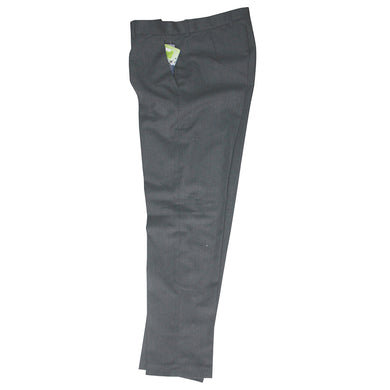 Boys Mens Grey Trousers Slim Fit