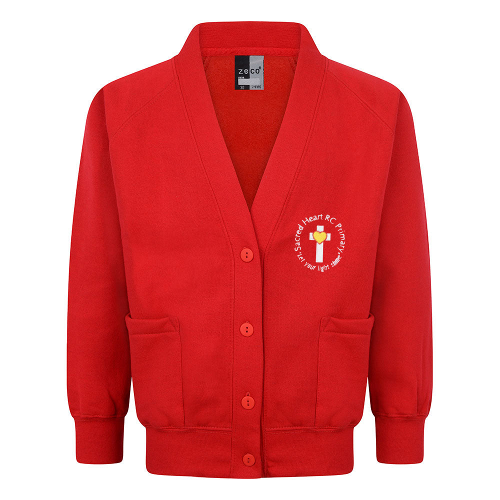 Sacred Heart RC Primary Sweat Cardigan With Logo