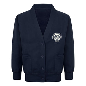 Park Primary Sweat Cardigan With Logo