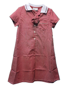Pendle View Summer Tartan School Girls Dress