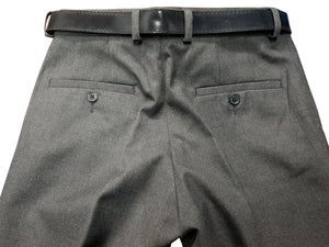 Boys Mens Grey Slim Fit Trouser 2 Back Pockets 2 Front Pockets