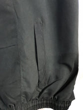 Plain Black PE Tracksuit Bottoms Microfiber