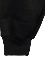 Plain Black Fleece PE Tracksuit Bottoms