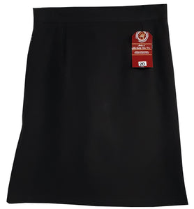 Black Stretch Pencil Skirt with Concealed pocket