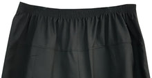 Black Sturdy Skirt Half Elasticated