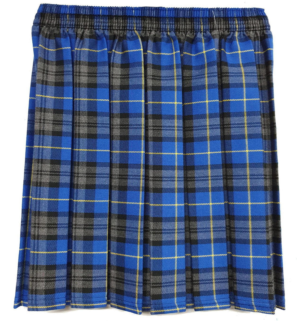Roughlee Church Girls Tartan Skirt Heavy & Light Weight