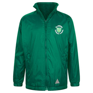 St Joseph RC Reversible Raincoat + Logo