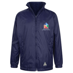 Holy Saviour Primary Reversible Raincoat With Logo