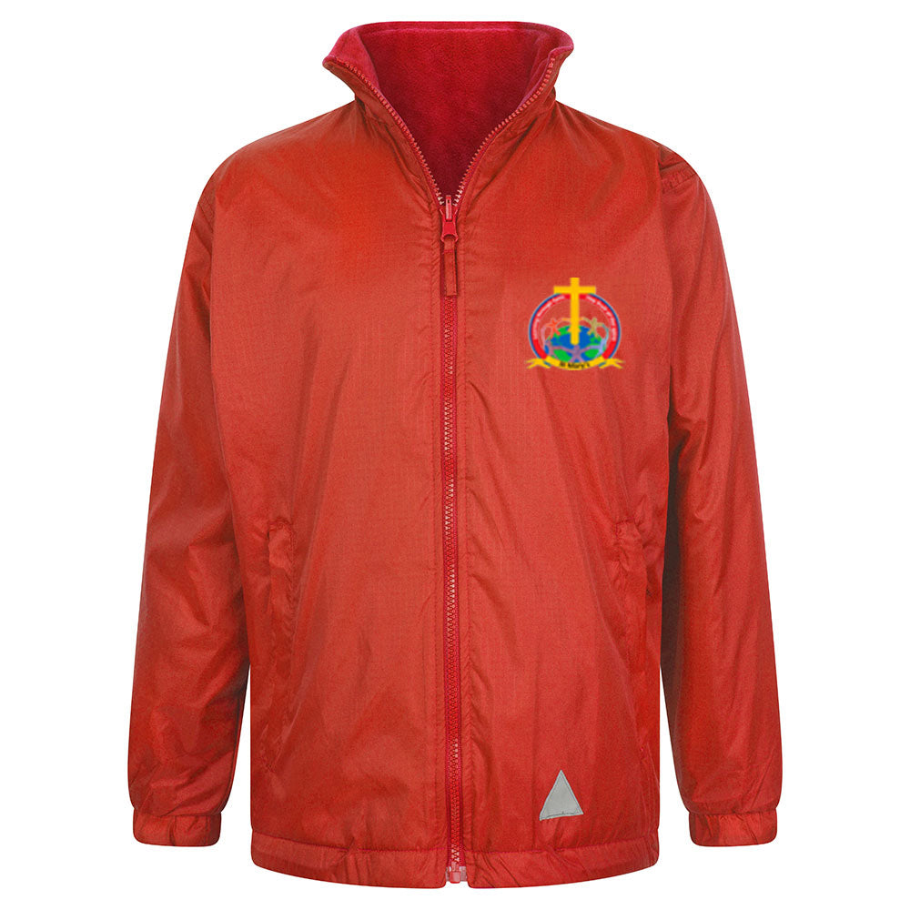 St Mary's C of E Reversible Raincoat