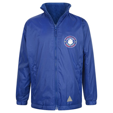 St Phillips Reversible Raincoat With Logo
