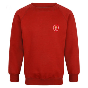 Sacred Heart RC Primary Raglan Sweatshirt With Logo