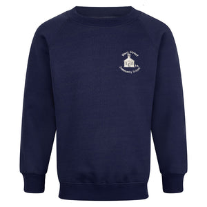 West Street Primary Raglan Sweatshirt With Logo