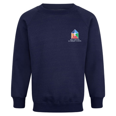 Holy Saviour RC Primary Raglan Sweatshirt With Logo
