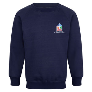 Holy Saviour RC Primary Raglan Sweatshirt