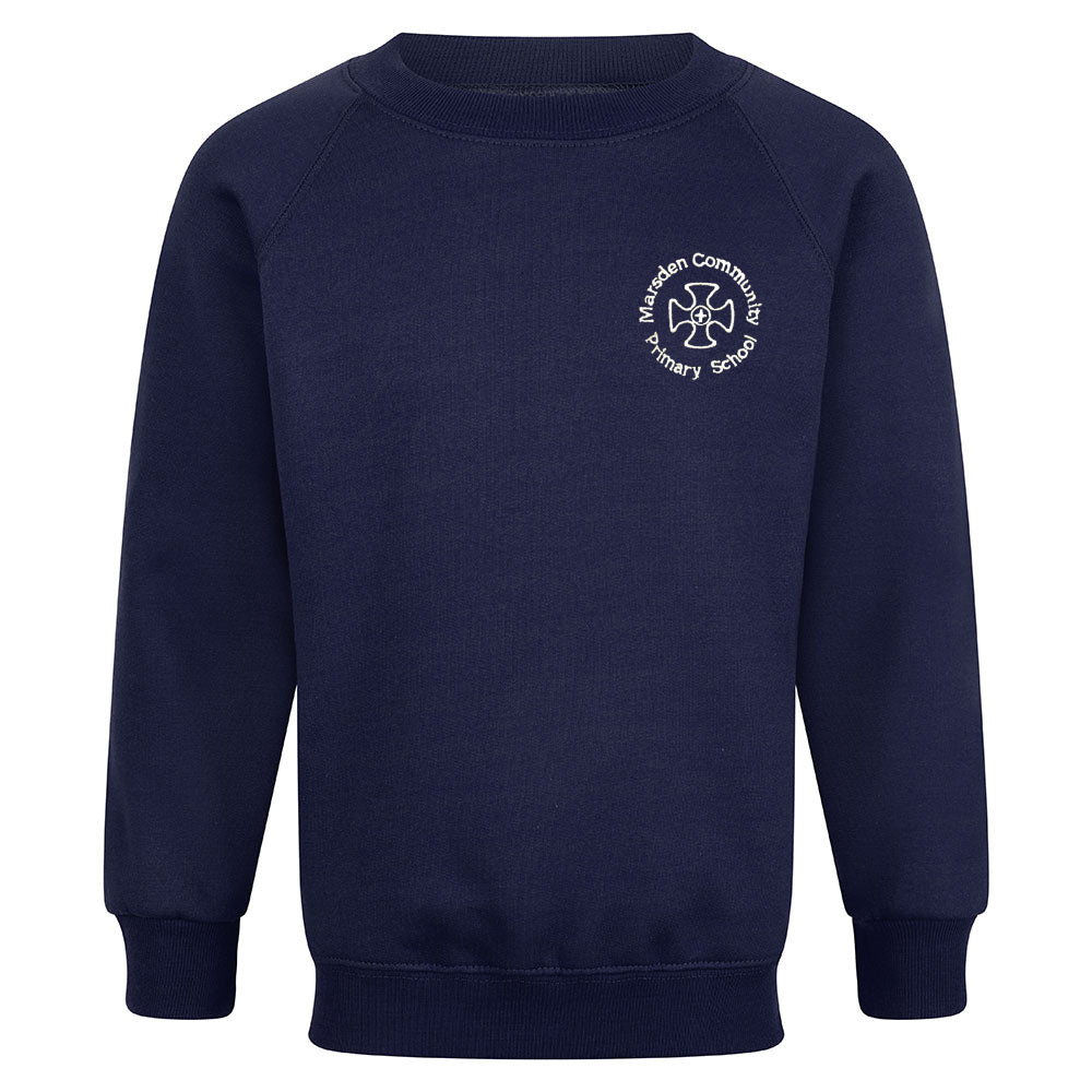 Marsden Community Primary Raglan Sweatshirt With Logo