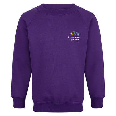 Laneshawbridge Primary Raglan sweatshirt With Logo