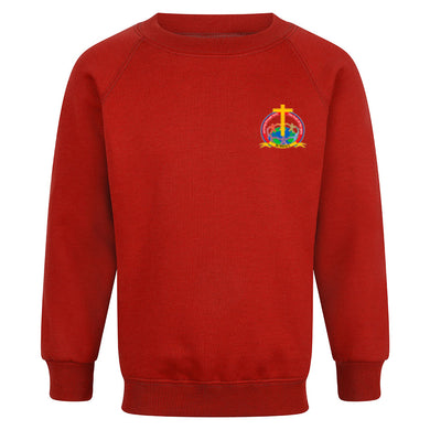 St Mary's Primary Raglan Sweatshirt