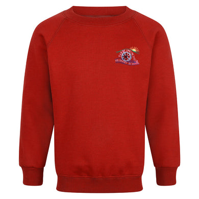 Earby Springfield Primary Raglan Sweatshirt With Logo
