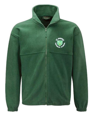 St Joseph Fleece Jacket With Logo