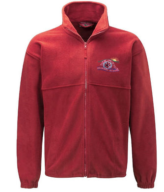 Earby Springfield Primary Fleece Jacket With Logo