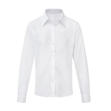 Girls White School Blouse/ Shirt Long or Short Sleeved