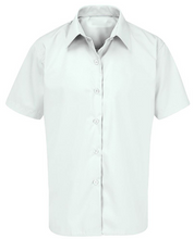 Girls White School Blouse/ Shirt Long or Short Sleeved Twin Pack