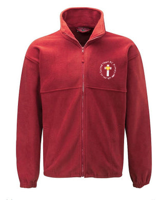 Sacred Heart Primary Fleece Jacket With Logo