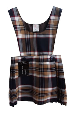 New Lord Street Tartan Pinafore Dress
