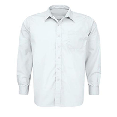 Boys White School Shirt with Breast Pocket