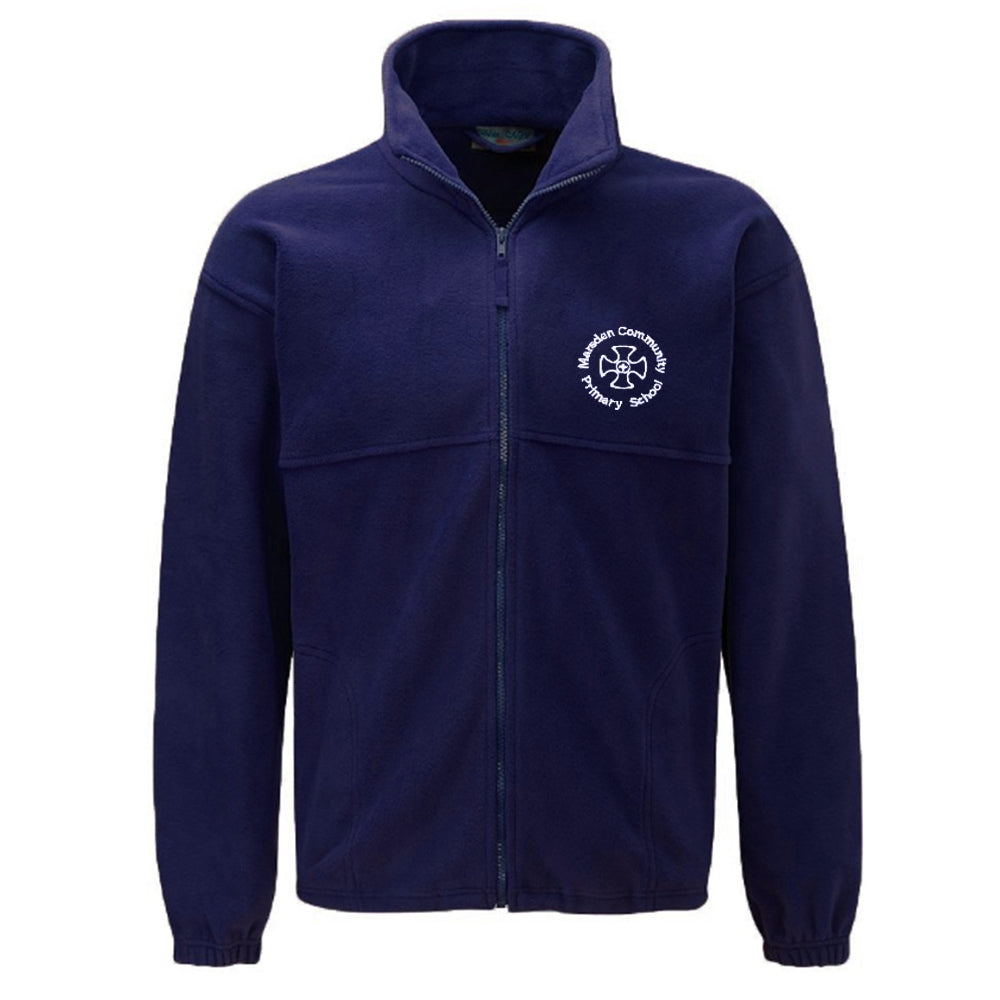 Marsden Primary Fleece Jacket With Logo